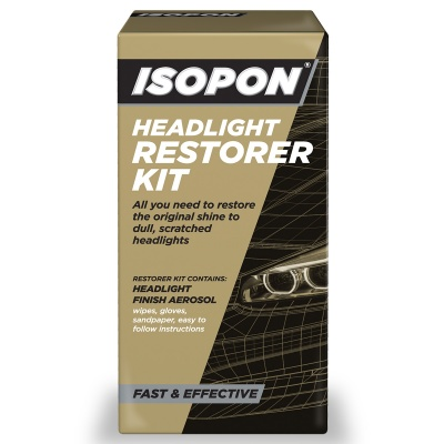 ISOPON Headlight Restorer Kit